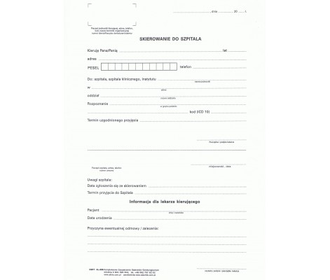 referral to hospital