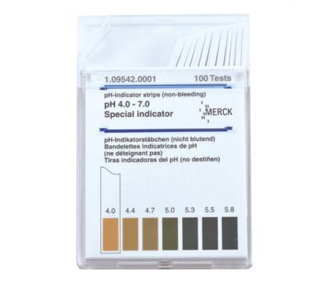merck® ph indicator strips 4,0-7,0
