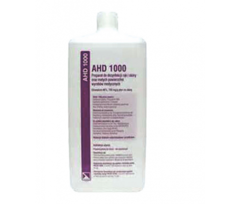 ahd 1000 500 ml hands and skin disinfection