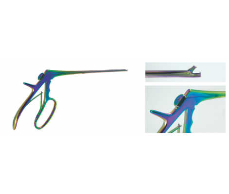 baby tischler biopsy forceps, titanum, non-rotating, immovable