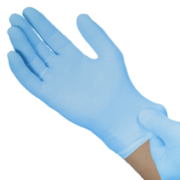 nitrile gloves, non-sterile xl