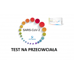 SARS-CoV-2 Test na przeciwciała. PROMOCJA. PRZY...
